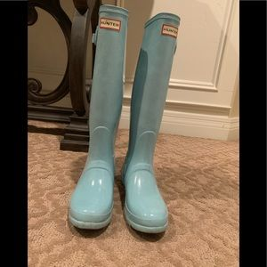 Tiffany Blue Hunter Boots!